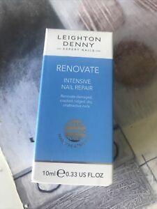Leighton Denny Renovate Intensive Nail Repair 10ml – New / Boxed