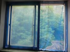 "Shatex Anti-mosquito Window Screen Mesh, Nylon,36""x75"", Light Blue"