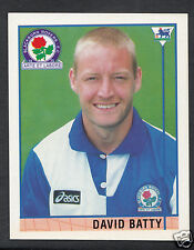 Merlin 1996 Football Sticker - No 13 - David Batty - Blackburn Rovers