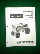 BOLENS HUSKY 853 TRACTOR MODEL # 853-02 OWNER MAINTENANCE MANUAL 2/70