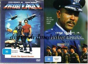 Iron Eagle 1 & 2 II DVD SET Louis Gossett Jr Brand New and Sealed Australia