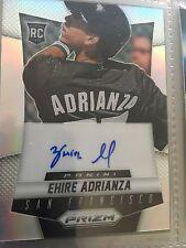 2014 Panini Prizm Autographs Prizms #EA Ehire Adrianza San Francisco Giants