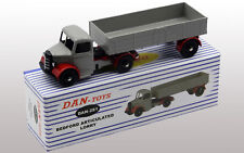 DAN TOYS Bedford Articulé Lorry Gris / Rouge  Ref. DAN-281