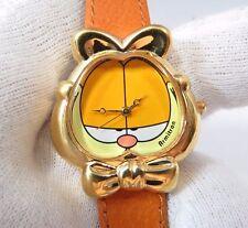 "GARFIELD, Armitron, 3D ""The Cat Face"" Retired, Vintage, KIDS/LADIES WATCH, 637"
