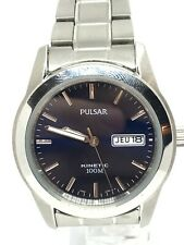 Pulsar by SEIKO Kinetic Mens Classic Watch YT58-X008 Stainless Steel Bracelet