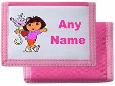 Dora Explorer stile personalizzato Portafoglio/Borsa * Colore a Scelta * mayzie Designs ®