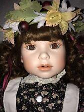 Vintage 1993 Marie Osmond Four Seasons Amber Porcelain Doll LE #539/2500