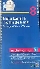 NV. Binnenband 8 - Göta-Kanal und Trollhätte-Kanal # Götakanal Schweden