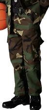 Kids BDU Cargo Fatigue Pants Camouflage Military  Rothco
