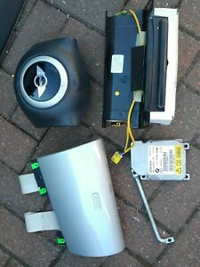 Bmw Mini Cooper S One 1.6 R50 R52 R53 Airbag Kit Free Postage