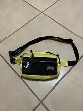 STUSSY DIAMOND RIPSTOP WAIST BAG LIME NEW WITH TAGS