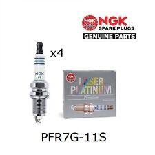 NGK LASER PLATINUM SPARK PLUGS - HONDA S2000 (F20C) PFR7G-11S