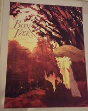Bon Iver 2013 European Tour Poster 18x24 Artist Proof Numbered #/100