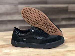 Men's VANS GILBERT CROCKETT PRO Skateboard Shoes All Black Size: 10.5 Athletic