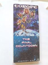 Europe ~ THE FINAL COUNTDOWN ~ cd 1986 NEW LONGBOX (long box) Joey Tempest