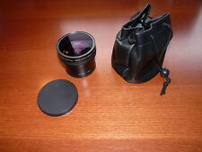 58mm 0.25X objectif Super Fisheye w/+12.5 macro Lumix Panasonic Canon Nikon Sony
