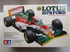 Tamiya 1:20 Scale Lotus 107B F1 Model Kit - New - Johnny Herbert / Alex Zanardi