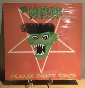 """The Meteors - Please Don't Touch 12"""" Psychobilly Vinyl Rockabilly"""