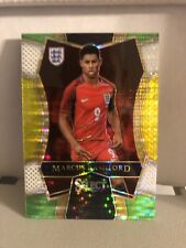 Marcus Rashford 2016-17 Select Multi Color Rookie Card #151 England Off Centered