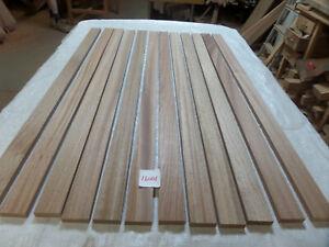 Sapele hardwood timber 12 @ 1.22m x 15mm x 15mm (16001R7) bench slats trim