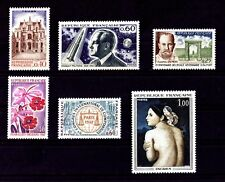 LOT DE TIMBRES N° 1525/1526/1527/1528/1529/1530 NEUF**