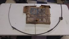 NOS GM 1957-59 CHEVY GMC TRUCK SERIES 3G 4WD REAR BRAKE CABLE 3744893 NAPCO