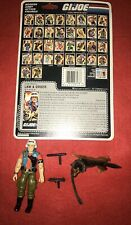1987 VINTAGE GI JOE LAW & ORDER 100% COMPLETE WITH FULL UNCUT FILE CARD