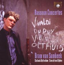 BRAM VAN SAMBEEK - BASSOON CONCERTOS-THE ART OF THE BASSOON  CD NEU VIVALDI