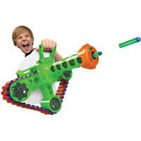 Foam Dart Machine Gun Motorized Automatic Belt Blaster Kids Toy NEW Refill Nerf