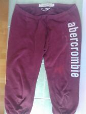 Abercrombie and Fitch 42 L Shorts Pants Sport Bordeaux red
