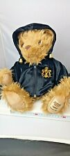 """GIORGIO BEVERLY HILLS 2002 COLLECTORS TEDDY BEAR  SEATED 13"""" TALL SOFT PLUSH"""