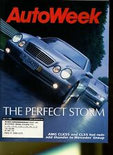 AutoWeek Magazine July 31, 2000 Mercedes AMG CLK55 and CL55, Volvo S80 T6