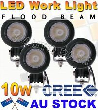 4X 10W Round Square Cree LED Work Light Flood 800LM Driving Reverse 4WD Lamp