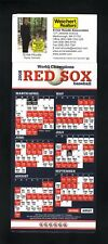 Boston Red Sox--2008 Hang-it Magnet Schedule