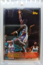 1996 96-97 Topps NBA at 50 Foil Ray Allen RC Rookie, Very Rare Parallel !