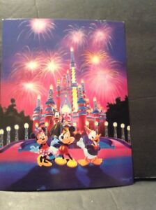 Vintage Disney Collectable Postcard 25 Magical Years