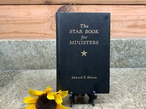 Vintage The Star Book for Ministers Edward T Hiscox 1975