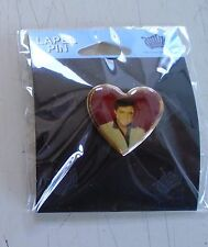 """Elvis Presley / Heart pin-on Jewelry / New cond./ Makes a Great gift - 1 x 1"""""""