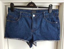 Ladies Warehouse Size 14 Denim Shorts Hot Pants