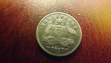 THREEPENCE 1917 3 LEGGED EMU
