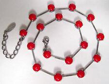 Modeschmuck-Halsketten aus Glas Liebe & Herzen