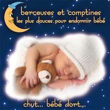 CD Berceuses et comptines les plus douces pour endormir bébé / IMPORT