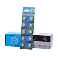 10 Pièces Te AG13 LR44 1.55 V Pièce Bouton Batterie Cellule pour Montre Jouets