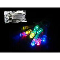Guirlande de Noel Lumineuse électrique 10 LED Multicolores Sapin 2 Mètres