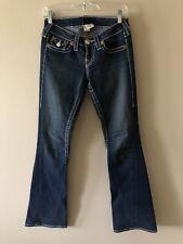 Ladies True Religion Joey Big T Bootcut Jeans Size 26 x 33