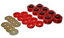 Energy Suspension Body Cab Mount Set Red for 01-04 Sierra 1500 # 3.4150R