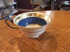 Wedgwood Whitehall powder blue bone china cream Peony cup green mark W3993