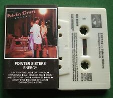 Pointer Sisters Energy inc Everybody Is A Star + Cassette Tape - TESTED