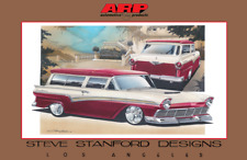 1957 Ford Estate Wagon Print - Steve Stanford Designs and ARP
