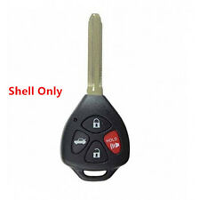 New Remote Key Keyless Replacement Case Shell Uncut Blade Blank 4Btn for Toyota